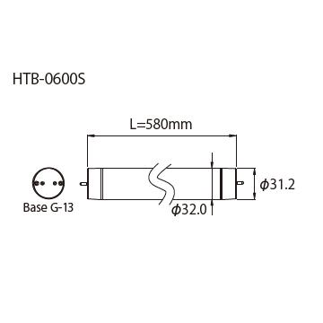 HTB-0600S外形図