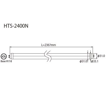HTC-2400S外形図
