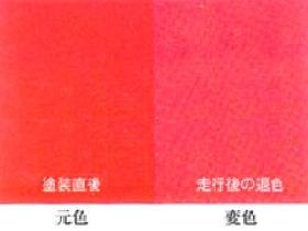 塗装トラブルと対策【変色】