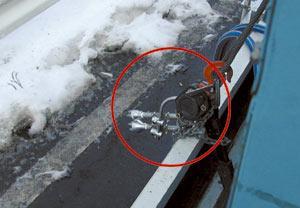 高速道路の雪とばしに採用